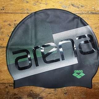 Arena Silicon Swimming Cap Black