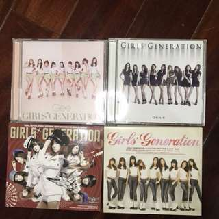 Girls Generation Albums - sold individually