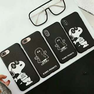 Kaws x Snoopy Crossover Phone Case - iPhone 6/7/8/X