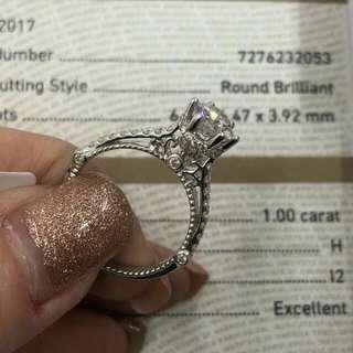 🕸卡裝鑽石戒指💥$22700 💥$22700 💥$22700 🕸 🍭 唔洗去深水埗又唔洗上淘寶😄Diamond ICQ揾到✌