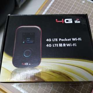 4G Pocket wifi