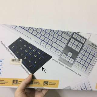 High Keycap Multimedia Keyboard