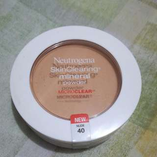 (REPRICED!!) Neutrogena Skin Clearing Mineral Powder