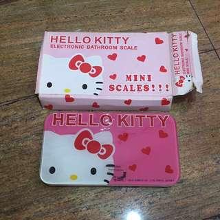 Hello Kitty Electronic Bathroom Scale