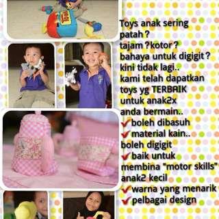 Handmade fabric toys (Picnic)
