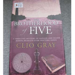 The Brotherhood of Five by Clio Gray