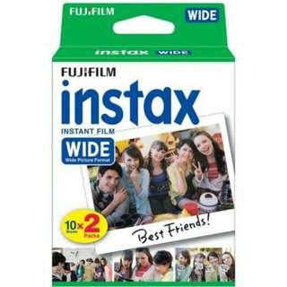 Instax Mini Wide Film Twin Pack