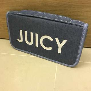 Juicy Couture Travel Case Pouch Wallet