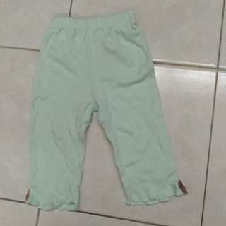 Baby Long Pants with flower at the back