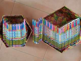 子.F.不二雄  珍藏版 哆啦a梦漫画书全集 礼盒装全套49册多啦A梦1-49漫画书 机器猫漫画书籍