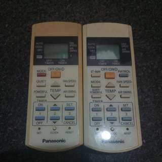 Panasonic Aircon Remote Control