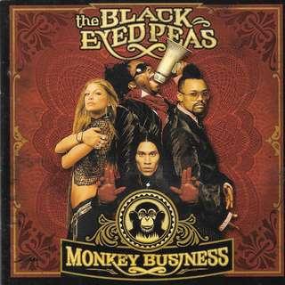 CD ALBUM - THE  BLACK EYED PEAS - MONKEY BUSINESS // BOX*B4**