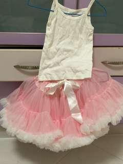 Tutu Skirt and Top