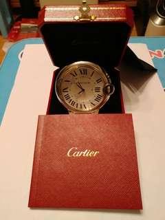 Cartier 58mm palladium石英鐘