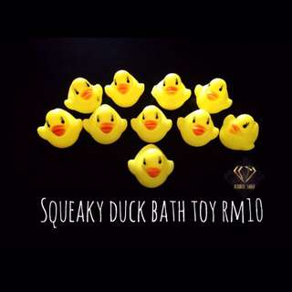 Squeaky Float Duck Bath Toy