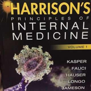 Medical Book- Harrison's Internal Medicine 19th ed