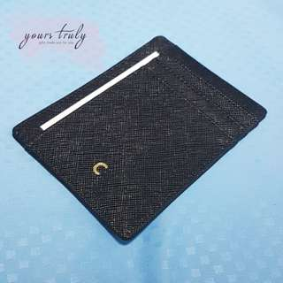 Personalised Saffiano Leather Card Holder [Customised]