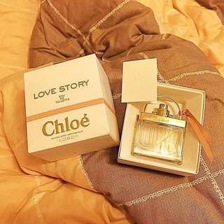 《現貨》Chloe Love Story❤️ 晨曦淡香精 30ml九成新