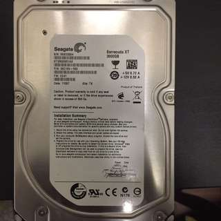 Seagate harddisk HHD 3TB