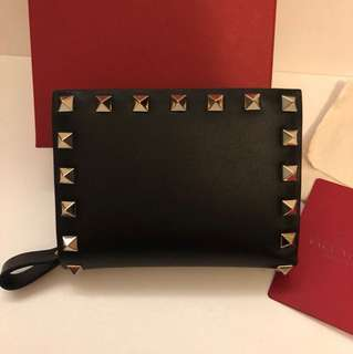 (New) Valentino wallet Black