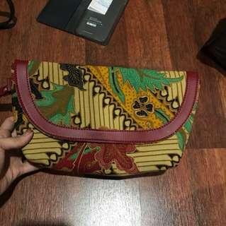 Dijual pouch batik asli