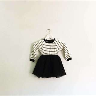 Girl top with tutu skirt