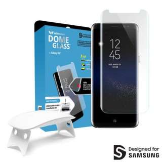 Whitestone Dome Glass Galaxy S8+ Full Cover Screen Protector