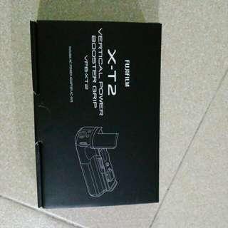 XT2 Vertical power booster grip vpb-xt2