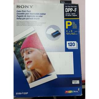 Sony Print paper DPP-F series 4 x 6 inch