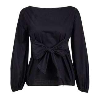 Zara Inspired Bow Tie at Waist Top