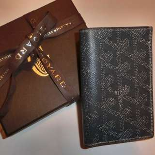 Goyard Grey Small Bi-Fold Wallet Card Holder 灰色短款銀包 卡片套 - NOT CHANEL HERMES LV GUCCI PRADA LOEWE