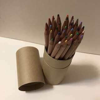 無印良品色鉛筆