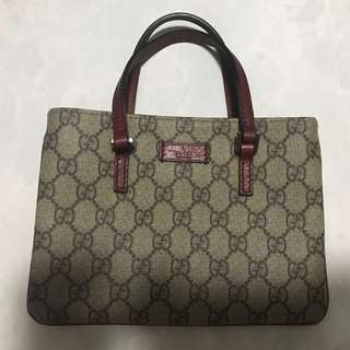 Gucci lunch bag