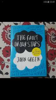 *RUSH* HARDBOUND THE FAULT IN OUR STARS