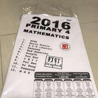 2016 Mathematics Assesssment papers