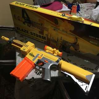 Blaze storm nerf gun