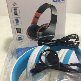 Stereo Headphones with Bluetooth