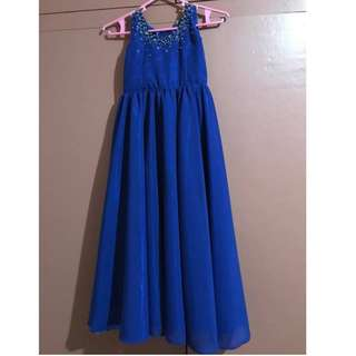 Long gown for kids age 2-4y/o