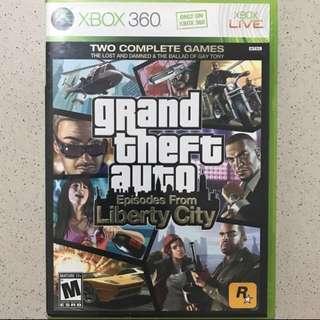 Xbox 360 Grand Theft Auto: Liberty City (2 episodes)