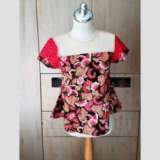 Blouse batik jrep