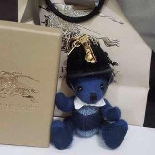 Authentic Burberry bear key chain