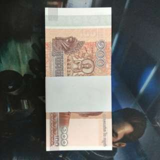 Cambodia completely new notes