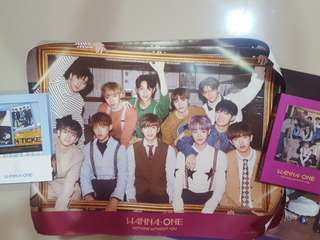 Wanna One Official Poster