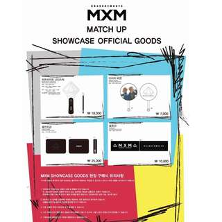 【Preorder】MXM Match Up Showcase Official Goods