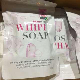 Whipp soap