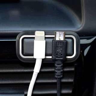 日本汽專用充電線固定貼