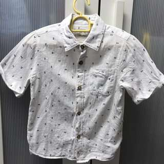Zara Kid White Shirt