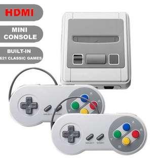 Classic Retro Mini SNES nintendo HDMI 621 games TV video game super console 2 players