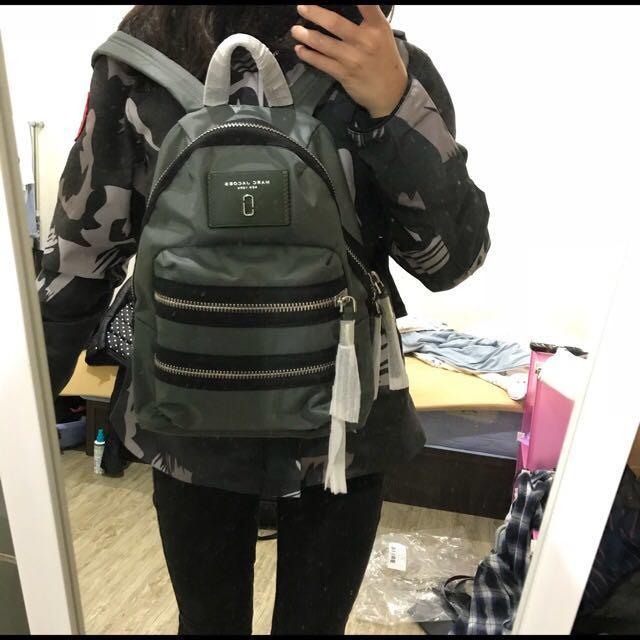 原價5800 Marc Jacobs nylon mini 後背包