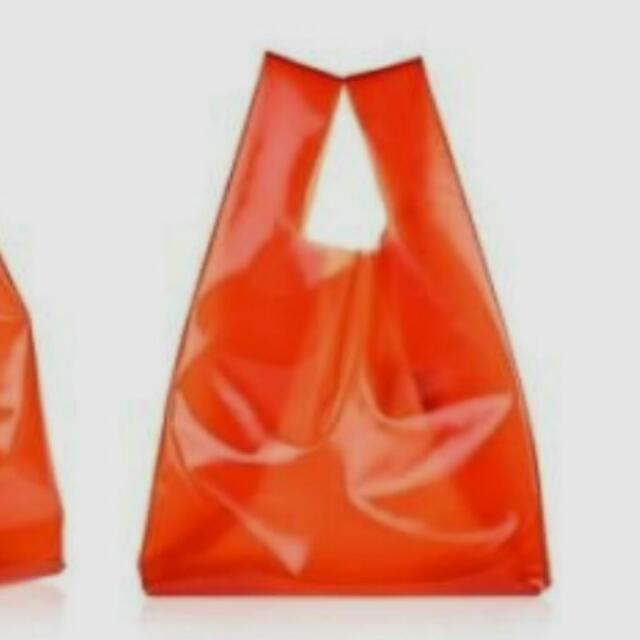 手提塑膠袋二百個